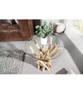 Stolik kawowy  Driftwood 35 cm naturalny