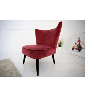 Fotel Retro Sixties czerwony