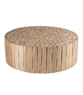 Stolik kawowy Disc naturalny