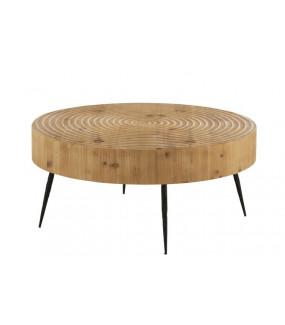 Stolik kawowy Circle naturalny