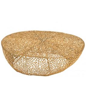 Stolik Kawowy Coral Złoty