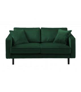 Sofa MELLOW tkanina riviera 38 ciemnozielona