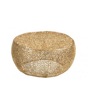 Stolik Kawowy Coral 81 cm złoty