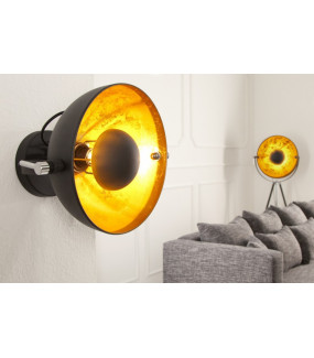 Lampa Studio Black Gold