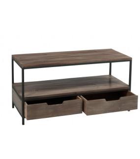 Stolik Kawowy 120 cm z szufladami do salonu