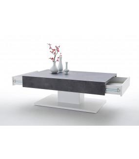 Stolik kawowy LANIA 110 cm z imitacją betonu