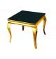 Stolik kawowy barokowy czarno złoty