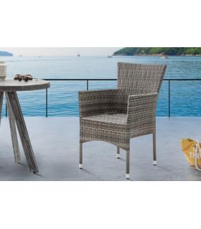 Krzesło ogrodowe NIZZA rattanowe