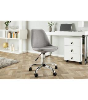 Krzesło biurowe Scandinavia jasnoszare