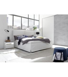 Łóżko AMALTI FULL 160 cm x 200 cm białe