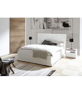 Łóżko AMALTI ALPACA 160 Cm X 200 Cm Białe