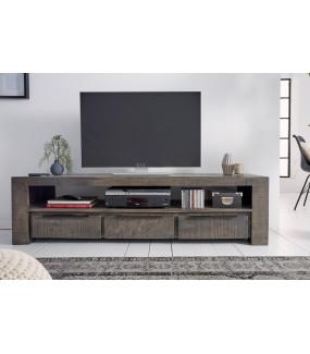 Stolik pod TV Iron Craft do pokoju w stylu nowoczesnym. Idealny do salonu w skandynawskim stylu.