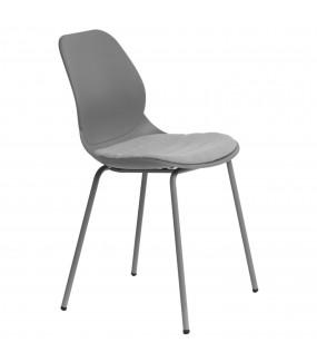 Krzesło idealnie wpisze się do salonu w stylu skandynawskim oraz pokoju w klasycznej aranżacji.