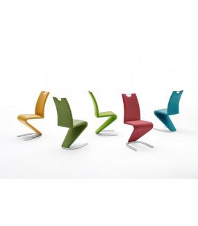 Krzesło AMADO Oliwkowe do salonu