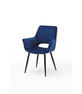 Krzesło SAMOS Niebieskie