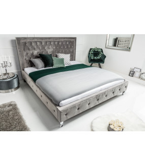Łóżko Extravagancia 160 Cm X 200 Cm Szare