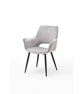 Krzesło SAMOS Jasnoszare