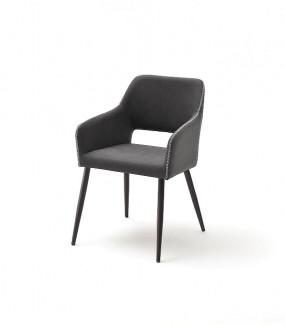 Krzesło TRIESTE Antracytowe