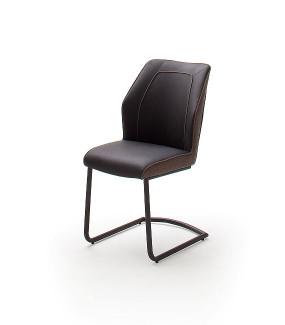 Krzesło ABERDEEN Brązowe