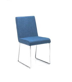 Krzesło LUISE Niebieskie