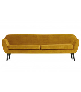 Sofa Rocco Velvet Ochre XL 230 cm