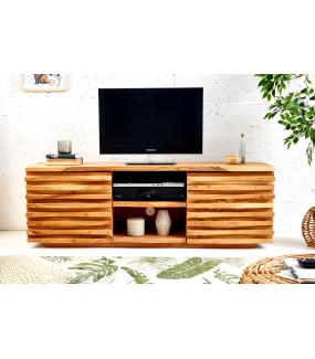 Stolik pod TV zarówno do salonu skandynawskiego jak i pokoju w stylu nowoczesnym