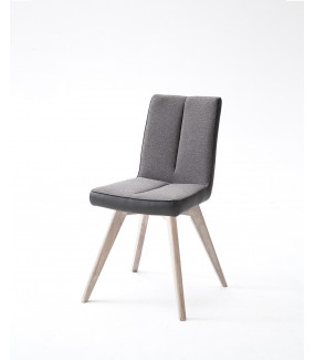 Krzesło ALESSIA F Szare do jadalni