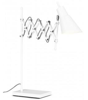 Lampa stołowa OXFORD biała