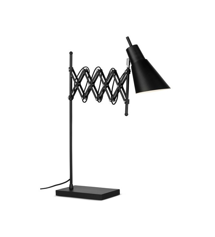 Lampa Stołowa OXFORD czarna do sypialni