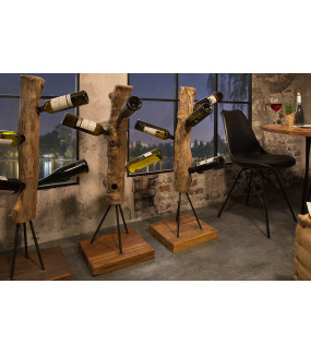 Stojak na wino Hemingway 103 cm teak