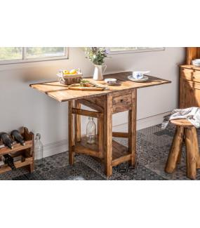 Stół rozkładany Hemingway 119 cm mahoń