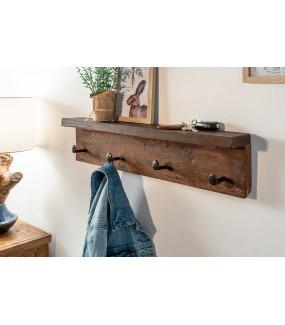 Wieszak Hemingway 60 cm z drewna tekowego