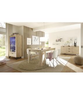 Stół PALMA 137 Cm W Kolorze Dębowym do salonu