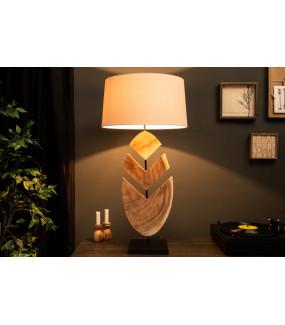 Lampa stołowa OrganicArtwork 91 cm orzech