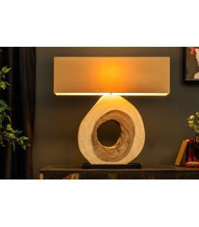 Lampa stołowa OrganicArtwork 92 cm beżowa do salonu