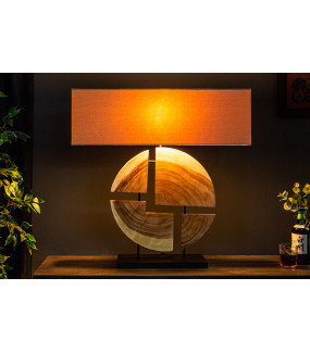 Lampa stołowa Organic Living 80 cm beżowa