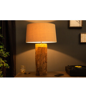 Lampa stołowa PureNature 73 cm do salonu