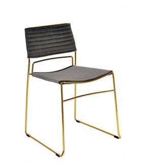 Krzesło JULIUS szare