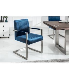 Krzesło Big Aston niebieskie