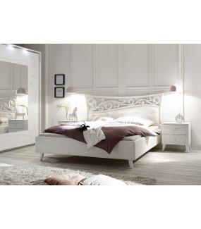 Łóżko SOLER 180 Cm X 200 Cm Białe