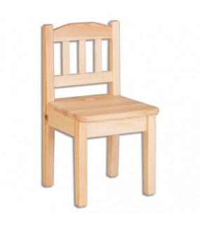 Krzesełko dla dzieci sosnowe