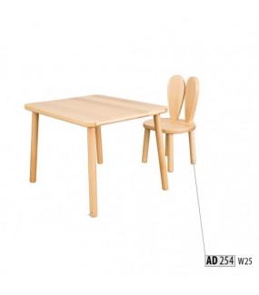 Krzesełko dla dzieci bukowe