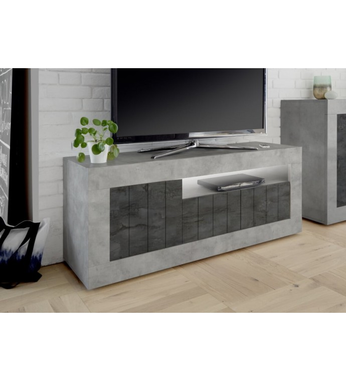 Stolik Pod TV URBINO 138 Cm w optyce betonu
