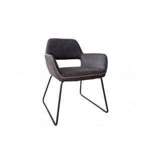 Krzesło Mustang antyczny szary