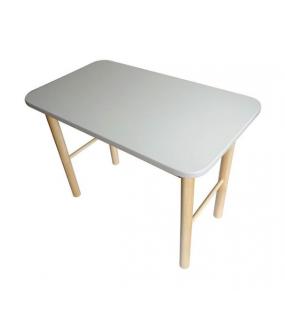 Zestaw stolik + 2 krzesełka dla dzieci biały