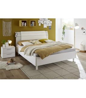 Łóżko ENJOY 90 cm x 200 cm białe