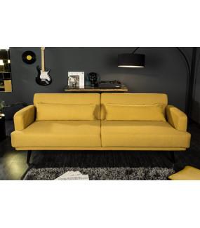 Sofa Studio 214 cm musztardowy żółty