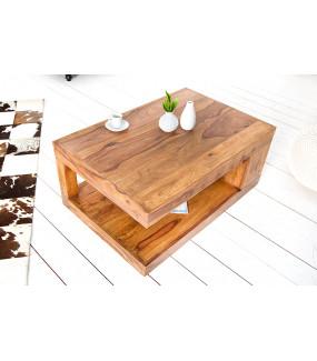 Naturalny stolik kawowy