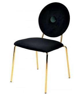 Krzesło BAROCCO czarne