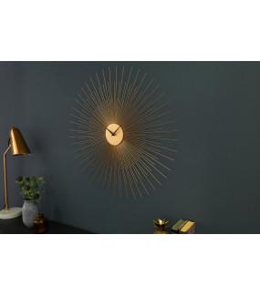 Zegar ścienny Infinity Home 70 cm złoty